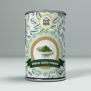 GREEN COFFEE POWDER ORGANIC