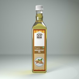 GROUND NUT OIL ORGANIC