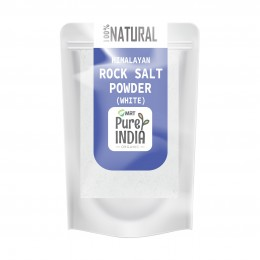 NATURAL HIMALAYAN ROCK SALT POWDER WHITE