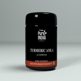 TURMERIC AMLA 60 CAP ORGANIC